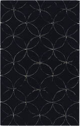 Surya Cosmopolitan COS-9190 Flint Gray/ Federal Blue Area Rug