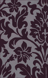 Surya Cosmopolitan COS-9195 Prune Purple Area Rug