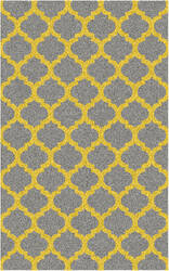 Surya Cosmopolitan COS-9229 Gray / Yellow Area Rug