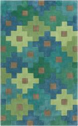 Surya Cosmopolitan COS-9230 Green Area Rug