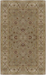 Custom Surya Crowne CRN-6010 Dark Tan Area Rug