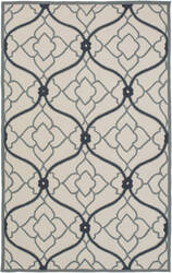 Surya Courtyard Cty-4042 Navy Area Rug