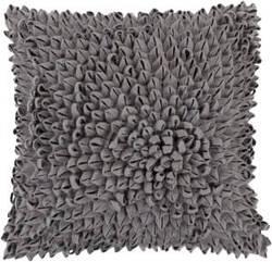 Surya Dahlia Pillow Da-001 Charcoal
