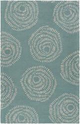 Surya Decorativa Dcr-4010 Teal Area Rug