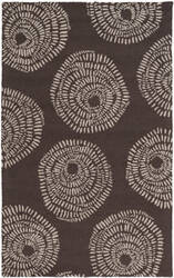 Surya Decorativa Dcr-4012 Black Area Rug