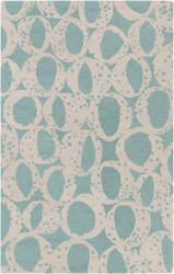 Surya Decorativa Dcr-4013 Teal Area Rug
