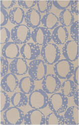 Surya Decorativa Dcr-4014 Blue Area Rug
