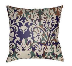 Surya Moody Damask Pillow Dk-001