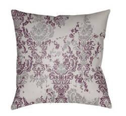 Surya Moody Damask Pillow Dk-019