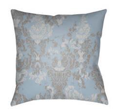 Surya Moody Damask Pillow Dk-021