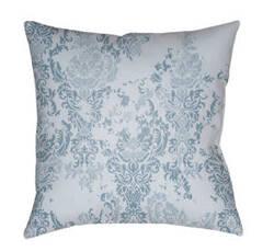 Surya Moody Damask Pillow Dk-025