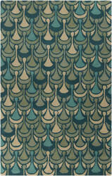 Surya Destinations DTN-79 Teal Area Rug