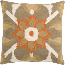 Surya Pillows FA-010 Olive