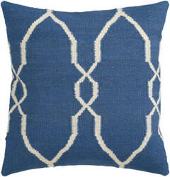 Surya Pillows FA-021 Blue/Ivory