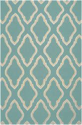 Surya Fallon FAL-1097 Dark Robin's Egg Blue Area Rug