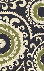 Surya Fallon FAL-1116 Blue / Green Area Rug