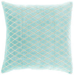 Surya Velvet Antique Lattice Pillow Fba-001