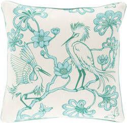 Surya Egrets Pillow Fbe-001