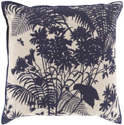 Surya Shadow Floral Pillow Fbs-002