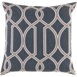 Surya Pillows FF-001 Navy/Olive
