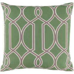 Surya Pillows FF-003 Lime/Gray