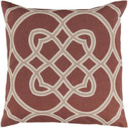 Surya Pillows FF-021 Rust/Beige