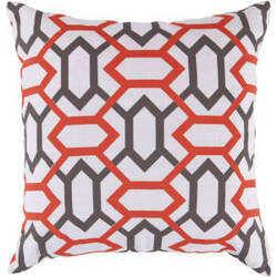 Surya Pillows FF-022 Poppy/Taupe