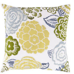 Surya Pillows FF-027 Lime/Multi