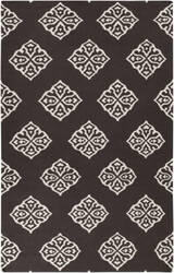 Surya Frontier FT-375 Jet Black Area Rug