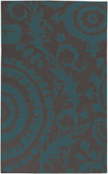 Surya Frontier FT-473 Turquoise Area Rug