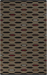 Surya Frontier FT-503 Black Olive Area Rug