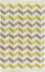 Surya Frontier Ft-607 Beige / Lime Area Rug