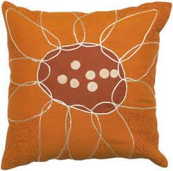 Surya Sunflower Pillow Fu-2003
