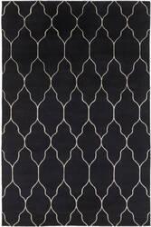 Surya Gates Gat-1014 Black/Gray Area Rug