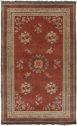 Surya Geisha Ges-1009 Orange Area Rug
