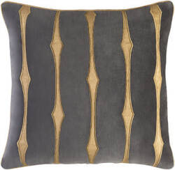 Surya Graphic Stripe Pillow Gs-004