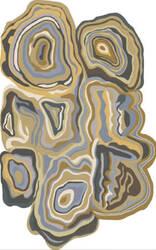 Surya Gypsy Gyp-204 Gold Area Rug