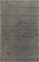 Surya Henna HEN-1001 Gray / Green Area Rug