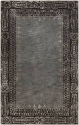 Surya Henna HEN-1005 Black / Gray Area Rug