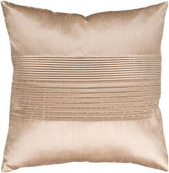 Surya Solid Pleated Pillow Hh-019