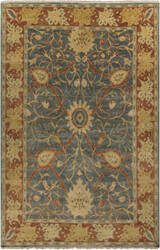 Surya Hillcrest HIL-9016 Green / Orange / Yellow Area Rug