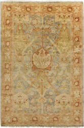 Surya Hillcrest HIL-9022 Moss / Yellow / Green Area Rug