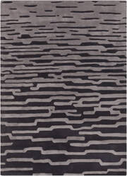 Surya Harlequin HQL-8019 Coal Black Area Rug