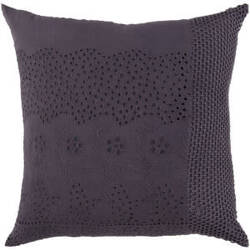Surya Pillows HSK-120 Pewter