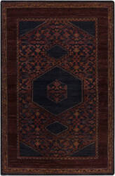 Custom Surya Haven HVN-1216 Red - Violet purple - Blue Area Rug