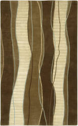 Surya Mugal IN-8072 Brown Dark Area Rug