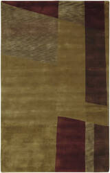 Surya Mugal IN-8101 Olive Green Area Rug