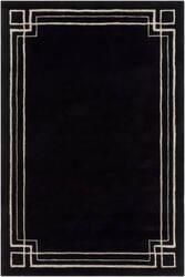 Surya Intermezzo Ine-1006 Black Area Rug