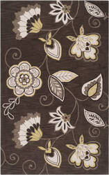 Surya Impressions Ipr-4001 Dark Brown Area Rug