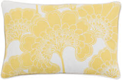 Surya Japanese Floral Pillow Ja-005